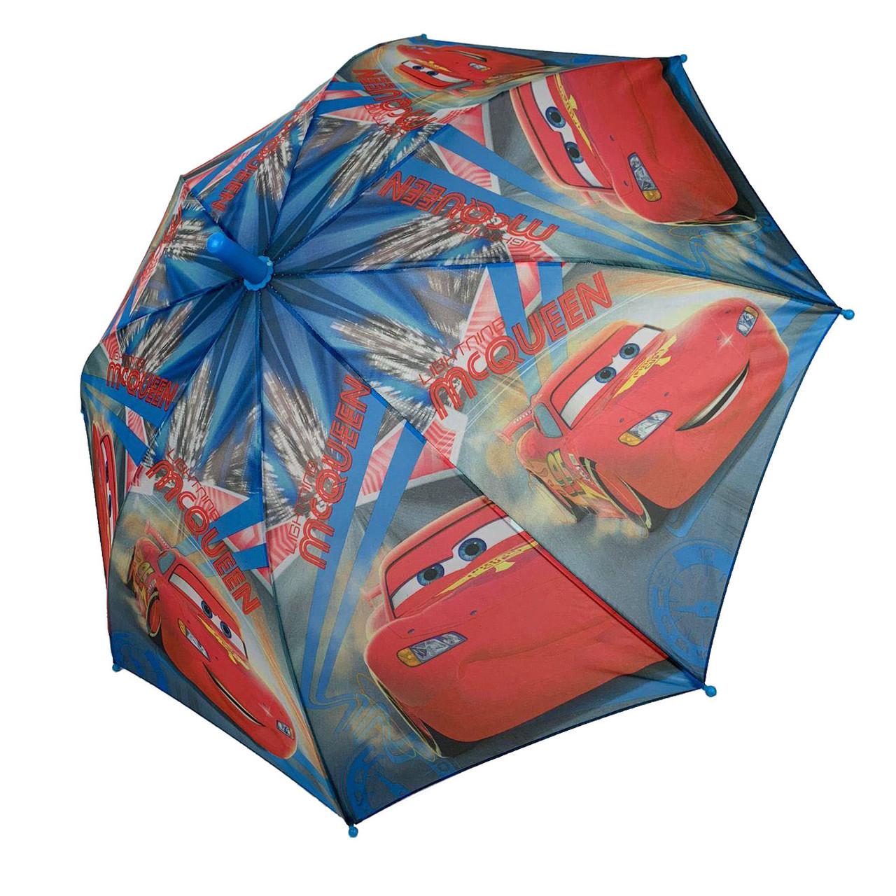 """Детский зонтик-трость """"Тачки"""" для мальчика от Paolo Rossi, разноцветный, 008-3"""