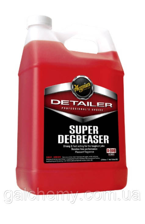 Обезжирювач для двигуна (концентрат) Detailer Super Degreaser  (3,78 л) ТМ Meguiar's