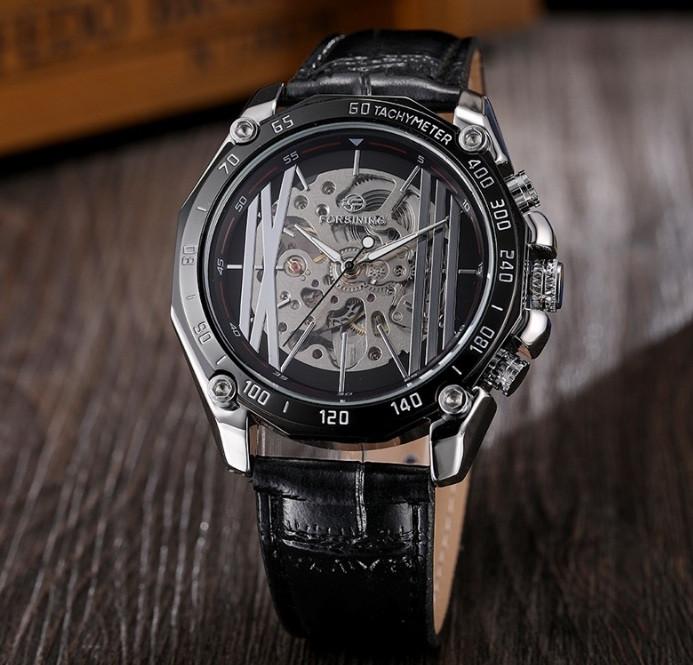Чоловічі механічні годинники Forsining