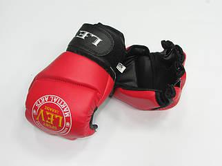 Дитячі рукавиці для рукопашного бою Free Fight (Фрі Файт) сирейч р-р XS