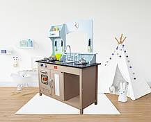 Детская деревянная кухня AVKO Софія C461 + посуда, фото 2