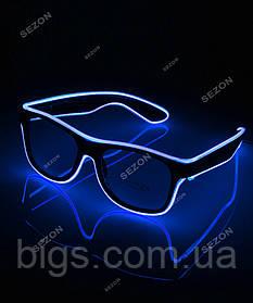 Очки неоновые с окантовкой HM-66 разные цвета