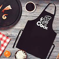 "Фартук с принтом ""Kiss the Cook"""