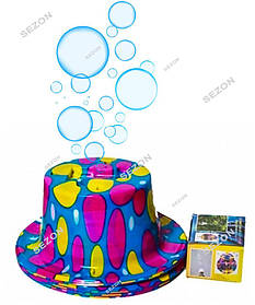 Шляпа машинка для пузырей на батарейках