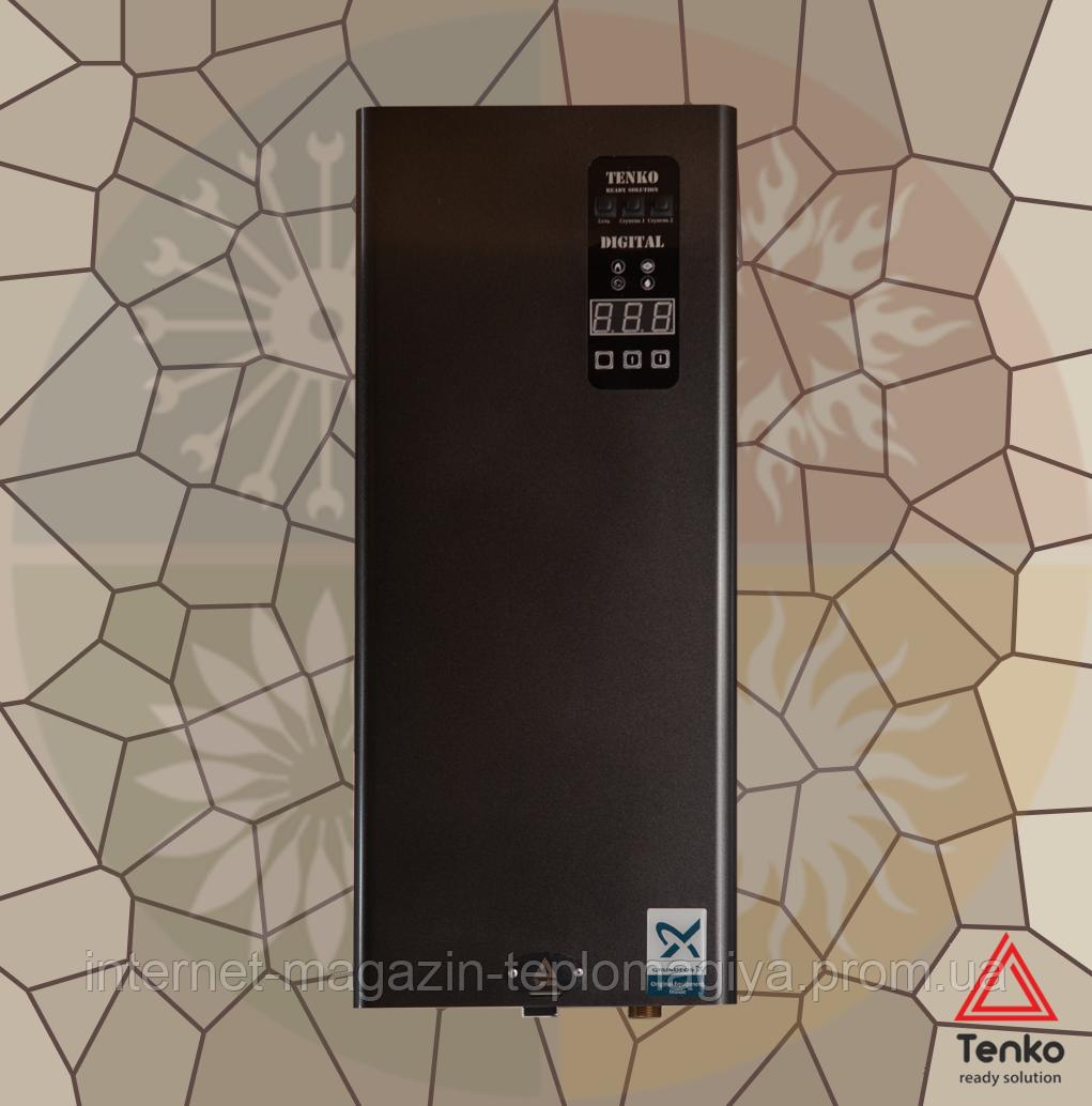 Електричний котел Tenko серии Standart Digital 10,5 кВт  / 380 В