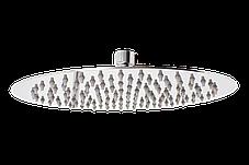 Душ верхний, Круглый, нержавеющая сталь Ø300мм (СЛ-300 РА ), фото 2