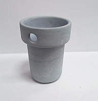 Тигель c карбидом кремния, пробирка с отверстием d-45 мм