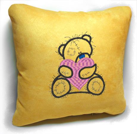 """Сувенирная подушка """" Мишка Teddy """" №18"""