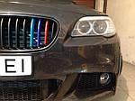 НАШИ РАБОТЫ: Установка противотуманок BMW 5 F10