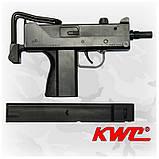 Пневматический пистолет KWC Mini Uzi KM-55 HN Мини Узи и Дополнительная обойма, фото 4