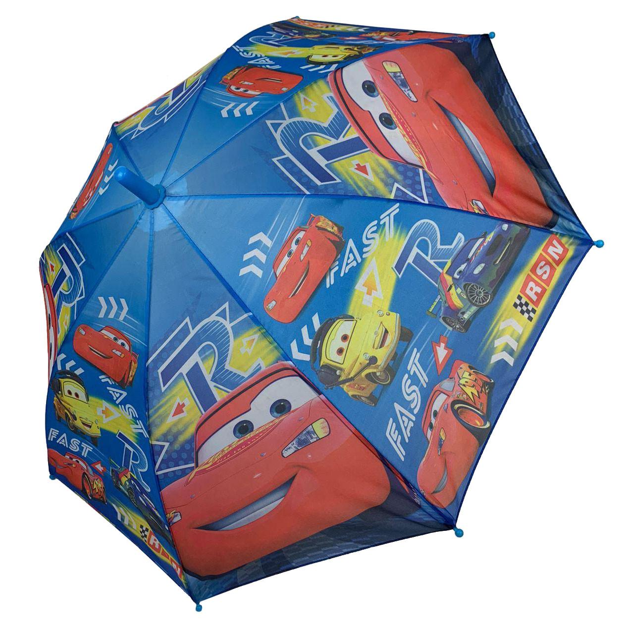 """Детский зонтик-трость """"Тачки"""" для мальчика от Paolo Rossi, разноцветный, 008-6"""
