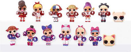 Кукла ЛОЛ Черлидеры Спортивная команда Бейсболистки L.O.L. Surprise! All-Star B.B.s Sports Series 2 571780, фото 2