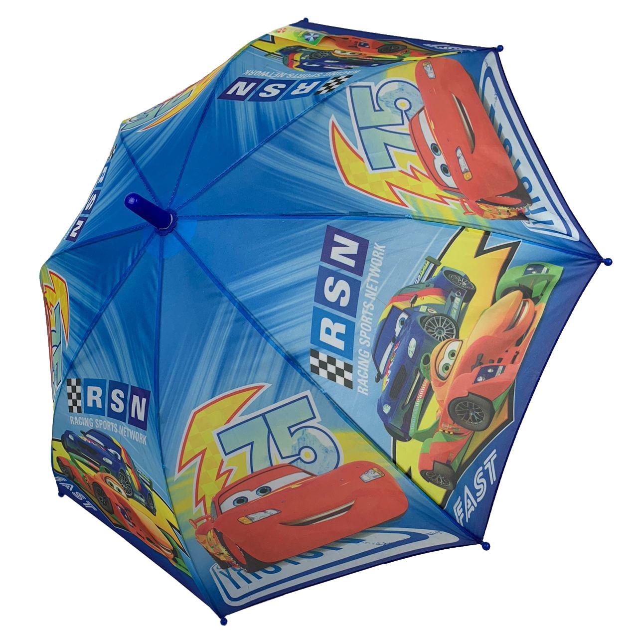 """Детский зонтик-трость """"Тачки"""" для мальчика от Paolo Rossi, разноцветный, 008-7"""