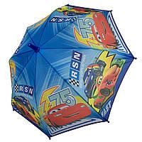 """Детский зонтик-трость """"Тачки"""" для мальчика от Paolo Rossi, разноцветный, 008-7, фото 1"""
