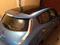 НАШИ РАБОТЫ: Nissan Lеaf оклейка крыши