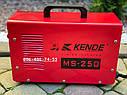Инверторный сварочный аппарат Kende MS-250, фото 5