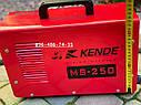 Инверторный сварочный аппарат Kende MS-250, фото 7