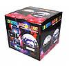 Светодиодный музыкальный диско шар   Доско сфера   Диско лампа Magic ball MP3 220V, фото 7