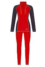 Жіноча термобілизна Z-LINE WOMEN RED/GRAY ZL220