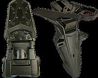 LX200GY-3 Pruss Пластик КРЫЛО заднее и подкрылок, Loncin - 340660265-0001 / 342270004-0001, фото 1