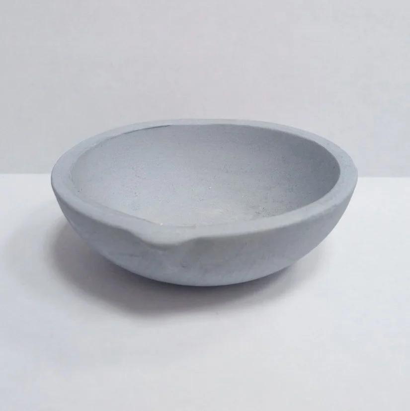 Тигель c карбидом кремния, чаша с носиком d-55 мм.