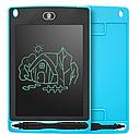 Дитячий графічний планшет для малювання та особистих нотаток з стилусом 8,5 дюймів BOARD-85, фото 4