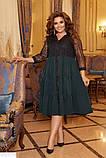 Красивое женское платье батал большого размера, фото 3