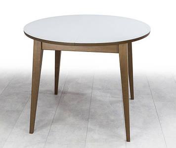 Стол обеденный Равенна NEXT орех+белый