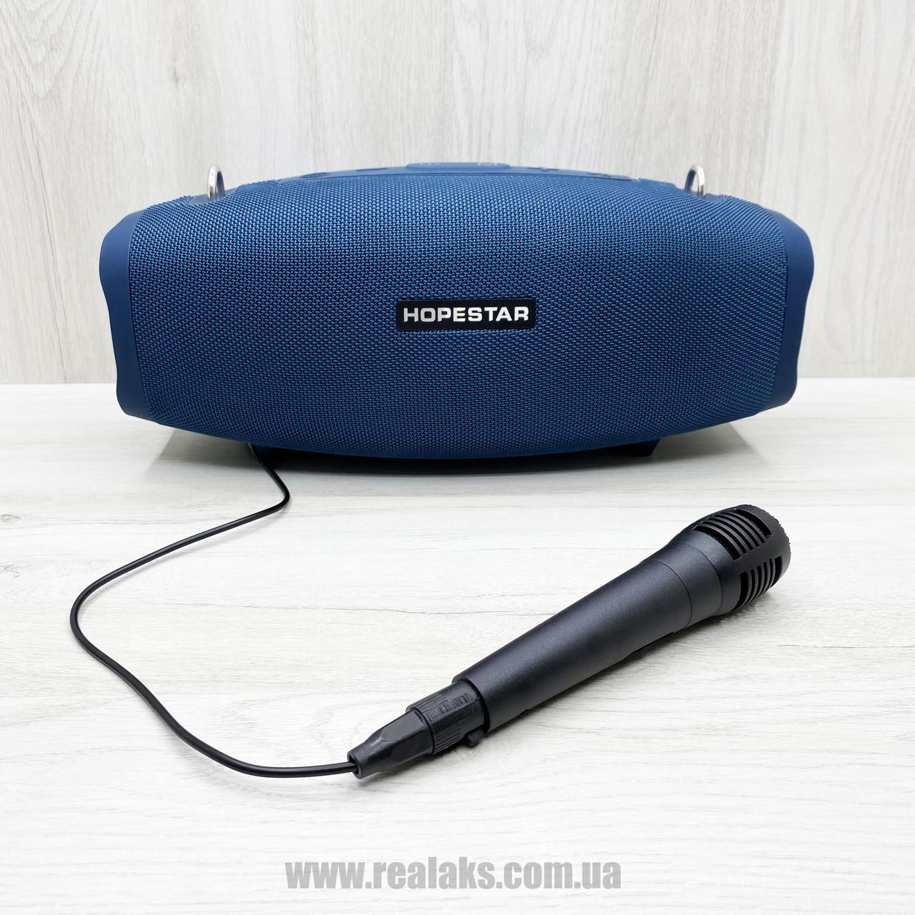 Портативная колонка HOPESTAR X (Blue)