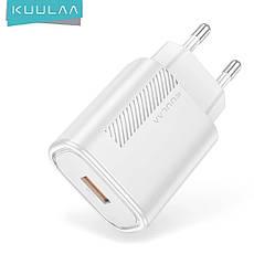 Зарядний пристрій KUULAA KL-CD02 18 вт Швидка зарядка Quick Charge QC3.0 Black, фото 3