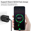 Зарядний пристрій KUULAA KL-CD02 18 вт Швидка зарядка Quick Charge QC3.0 Black, фото 2