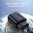 Зарядний пристрій KUULAA KL-CD02 18 вт Швидка зарядка Quick Charge QC3.0 Black, фото 4