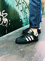 Кроссовки Adidas Superstar Black, фото 1