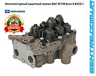 Многоконтурный защитный клапан DAF 1913300 XF106 Euro 6 EAC2.1 AE6000 K075170N50 Knorr-Bremse - Под заказ