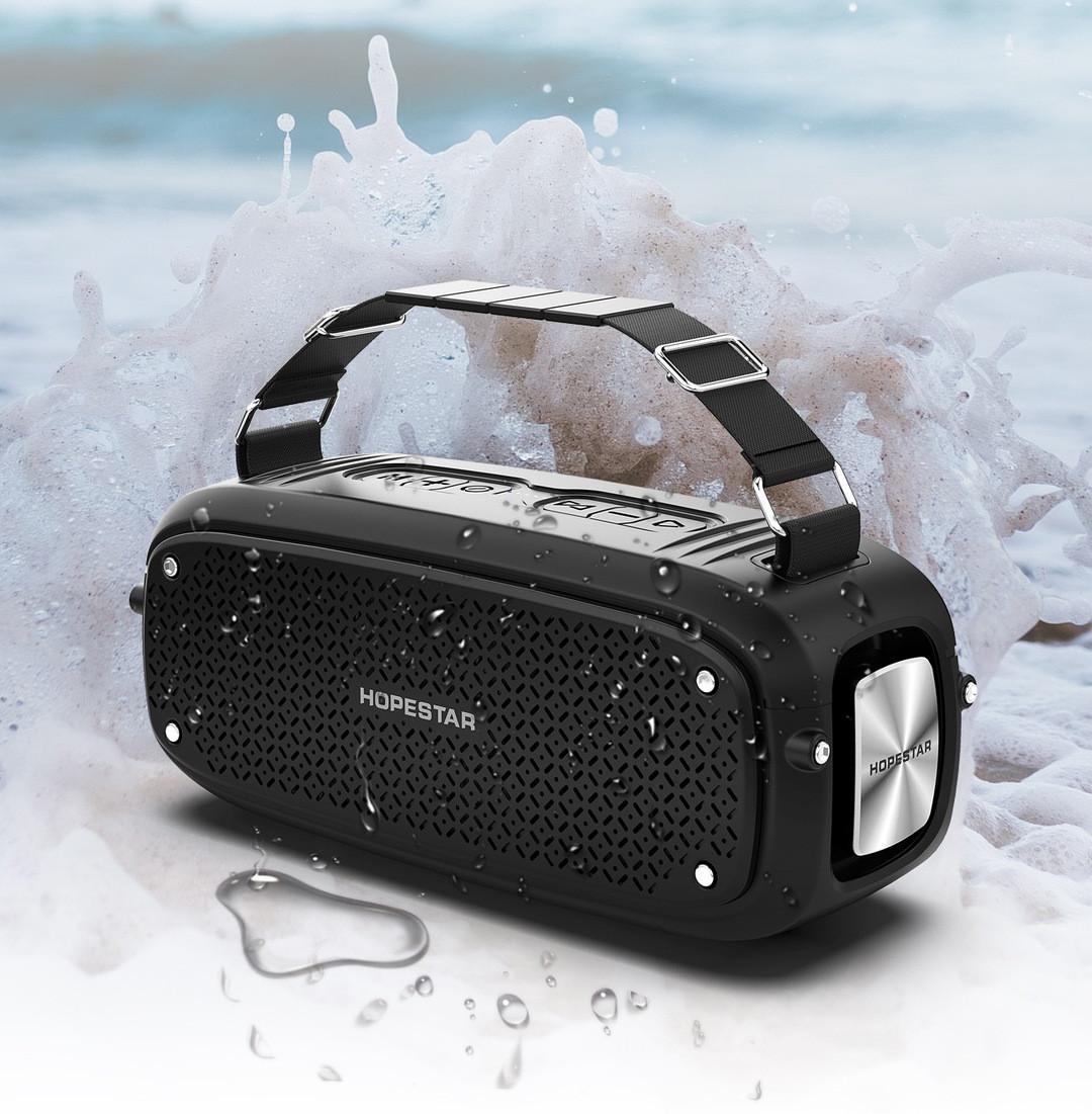 Портативная акустическая стерео Bluetooth колонка Hopestar A21 BASS SPEAKER