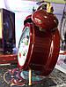 """Новогодний декор лампа - """"Часы"""" со снегом Snow Globe Clock LED Warm White Water №29, фото 8"""