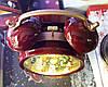 """Новогодний декор лампа - """"Часы"""" со снегом Snow Globe Clock LED Warm White Water №29, фото 9"""