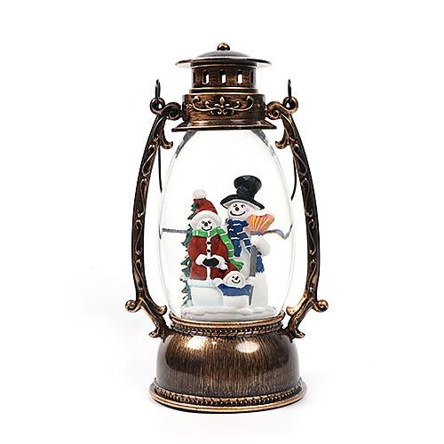 Новогодний декор лампа - со снегом Snow Globe 150