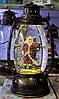 Новогодний декор лампа - со снегом Snow Globe 150, фото 3