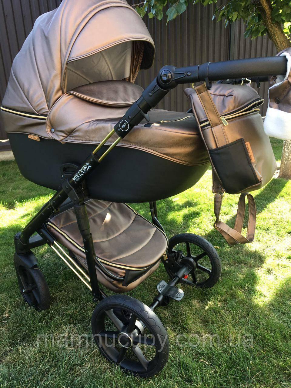Детская универсальная коляска 2 в 1 Mikrus Comodo Mio 54