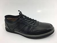 Спортивные полностью кожаные мужские Туфли, фото 1