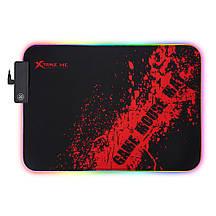 Коврик геймерский, игровой для мышки XTRIKE ME Backlight MP-602, игровая поверхность (350 X 250 x 3mm)
