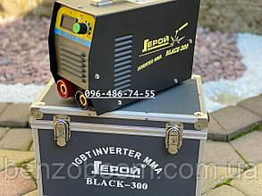 Инверторный сварочный аппарат Герой Black 300