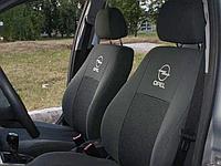 Чехлы в салон для OPEL Astra G / classic с 1997 - 2008г модельные Prestige СТАНДАРТ (комплект) Темно-серые