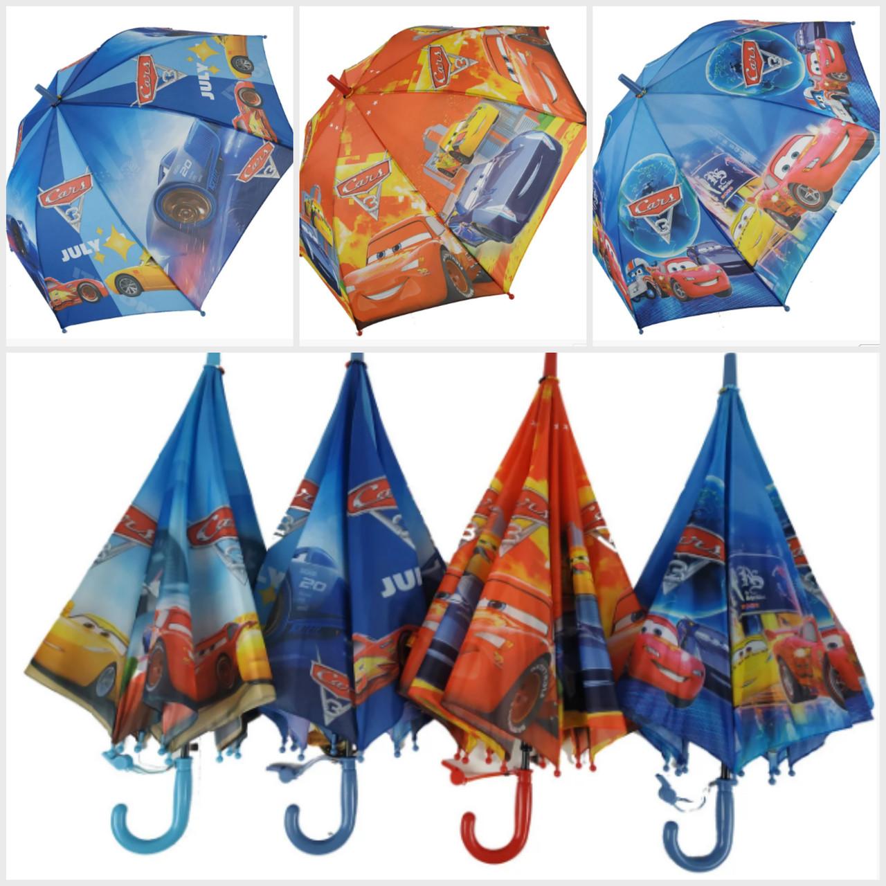 """Детский зонтик для мальчиков, трость с яркими рисунками от фирмы """"Max"""""""