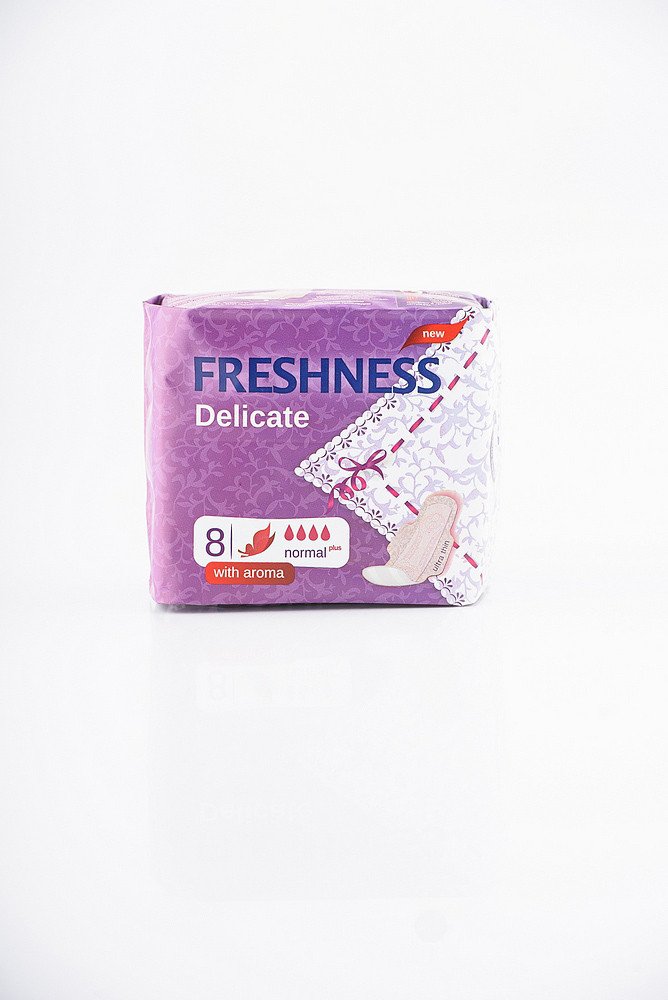 Прокладки Freshness Delicate Normal Soft 8 шт, Фрешнес