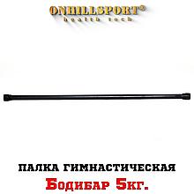 Палка гимнастическая Бодибар 5 кг