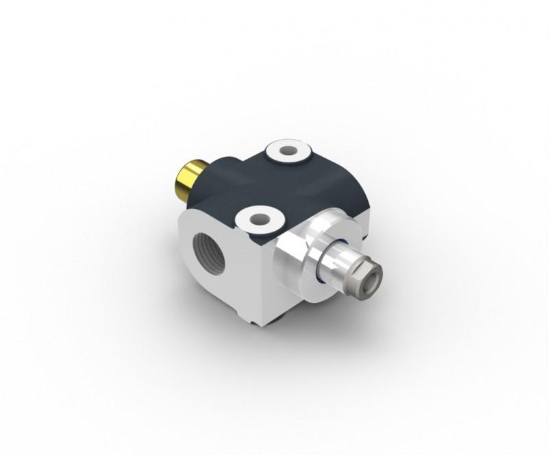 """Клапан ограничения подъема кузова (трясун или трясуха в простонароде) 1"""" вход-выход"""