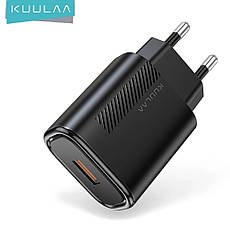 Зарядний пристрій KUULAA KL-CD02 18 вт Швидка зарядка Quick Charge QC3.0 White, фото 3