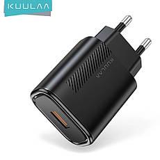 Зарядное устройство KUULAA KL-CD02 18 вт Быстрая зарядка Quick Charge QC3.0 White, фото 3